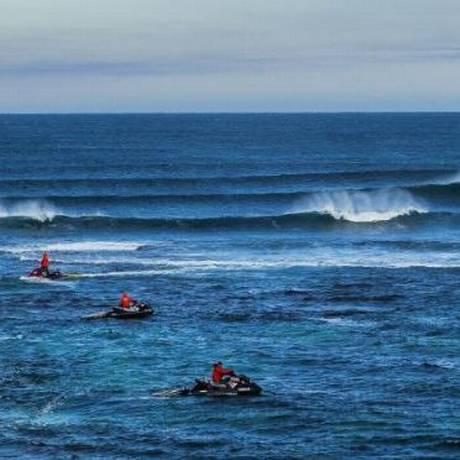 A praia de Margaret River, que receberia etapa do surfe e sofre com possibilidade de ataque de tubarão Foto: Divulgação