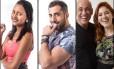 Gleici, Kaysar e família Lima são finalistas do 'BBB 18' Foto: Reprodução