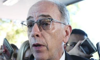 O presidente da Petrobras, Pedro Parente, está cotado para presidir o Conselho da BRF Foto: Ailton de Freitas / Agência O Globo