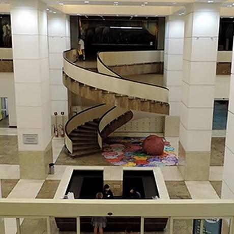 Caixa Cultural: espaço conta com quatro galerias, salas de cinema e teatro Foto: Divulgação/Caixa Econômica