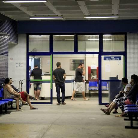 Entrada do Hospital Estadual Adão Pereira Nunes, em Saracuruna, no Município de Duque de Caxias Foto: Uanderson Fernandes / Agência O Globo