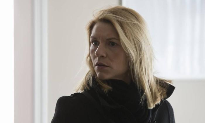 """Claire Danes é Carrie Mathison em """"Homeland"""" Foto: JoJo Whilden / JoJo Whilden/SHOWTIME"""