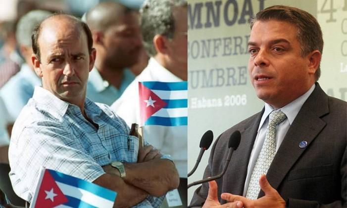 Felipe Pérez Roque e Carlos Lage: altos dirigentes caíram em desgraça Foto: Reprodução