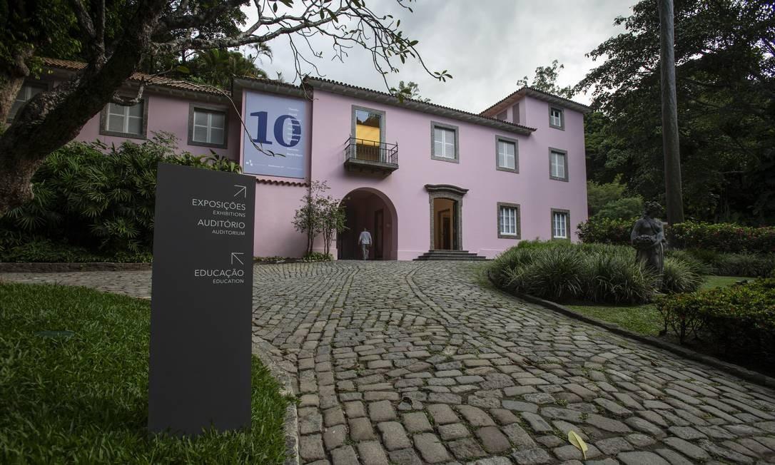 Casarão em estilo neoclássico foi construído em 1939 e teve como referência o Solar Megaípe, uma mansão pernambucana do século XVII Alexandre Cassiano / Agência O Globo