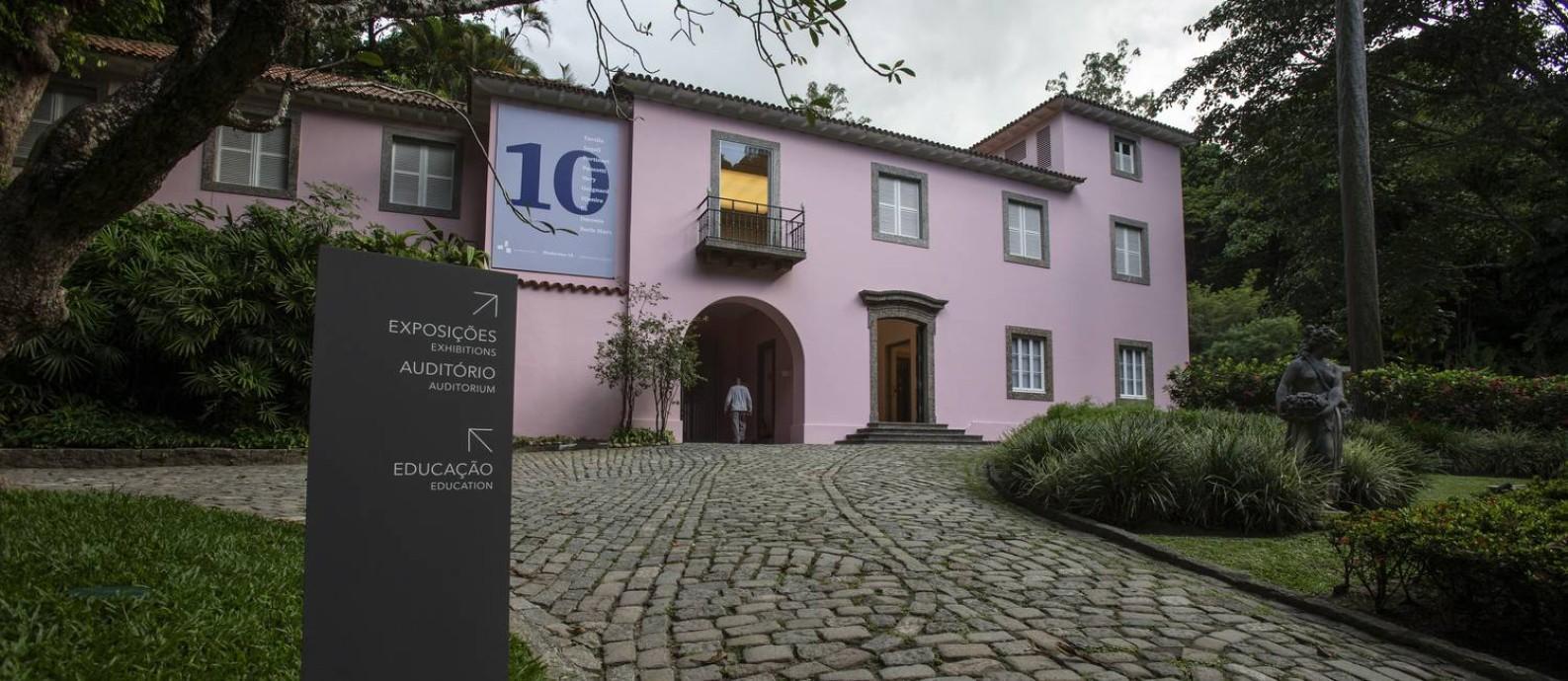 A Casa Roberto Marinho, no Cosme Velho Foto: Alexandre Cassiano / Agência O Globo
