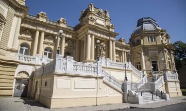 Palácio Guanabara, sede do governo estadual Foto: Ana Branco / Agência O Globo