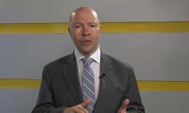 Demóstenes Torres apresenta seu quadro na televisão Foto: Reprodução / TV Goiânia