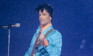 O cantor Prince Foto: David J. Phillip / AP