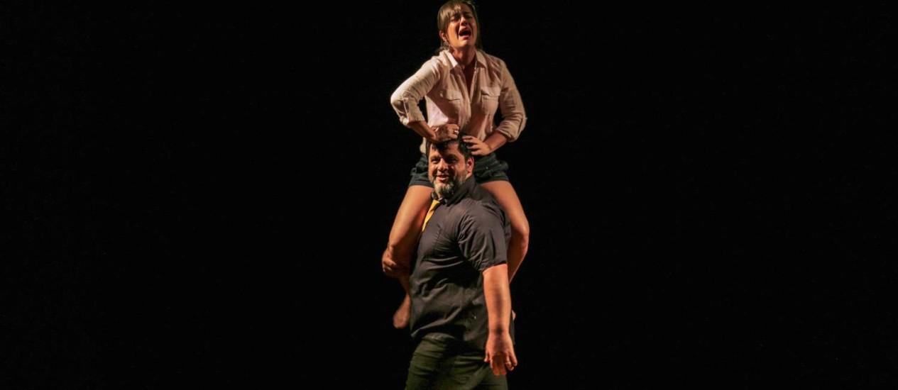 'Conexão: Solidão', no Teatro Poeira Foto: Divulgação