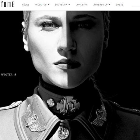 Capa do catálogo da coleção de inverno da Lança Perfume Foto: Reprodução Internet