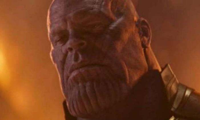 Thanos terá sua história contada em livro Foto: Divulgação/Marvel Studios