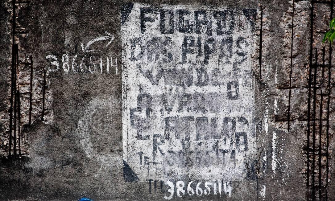 Palimpsesto, de Daniela Dacorso Foto: Divulgação/Daniela Dacorso