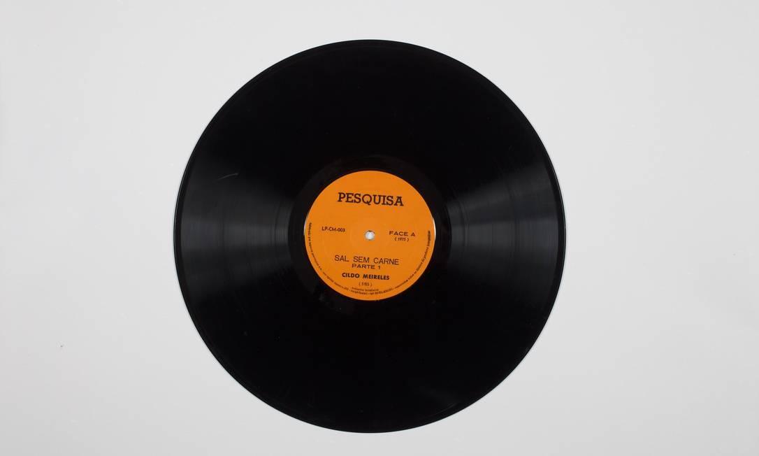 1975: O disco 'Sal sem carne', gravado pelo artista Foto: Pat Kilgore/Divulgação