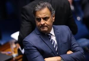 O deputado federal Aécio Neves (PSDB-MG) Foto: Jorge William / Agência O Globo
