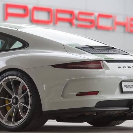 Sede da montadora alemã Porsche AG em Stuttgart Foto: THOMAS KIENZLE / AFP
