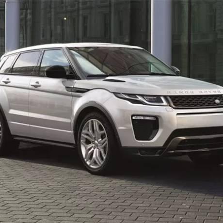 Modelo Land Rover Evoque: falha na flauta do combustível pode provocar vazamento de gasolina Foto: Divulgação