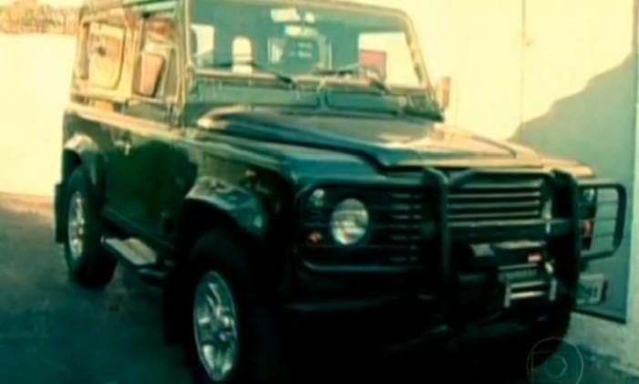 Land Rover Defender foi adquirido durante o escândalo do Mensalão Foto: Reprodução TV Globo