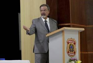 Em evento, Jungmann pede que todos os 159 presos em festa sejam investigados Foto: Marcos Ramos / Agência O Globo
