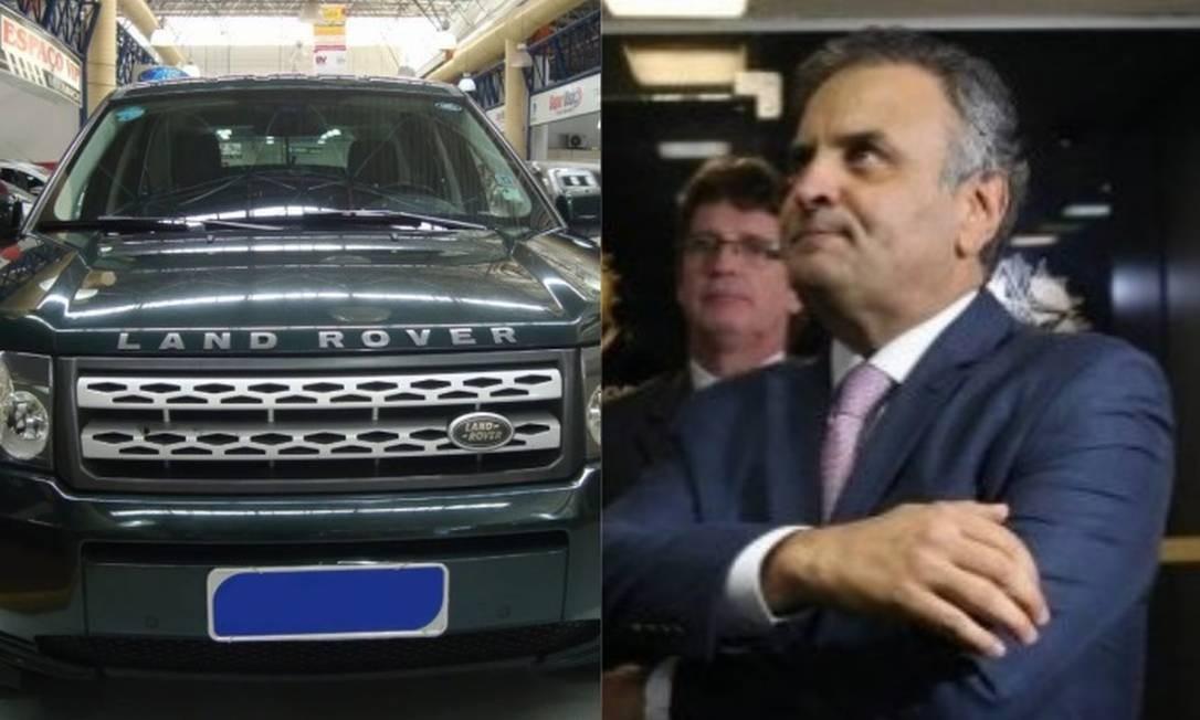 Aécio usava Land Rover em nome de rádio citada por Joesley como intermediária de mesada