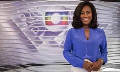 Glória Maria Foto: Divulgação/TV Globo