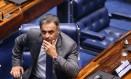 O senador Aécio Neves (PSDB) Foto: Ailton de Freitas / Agência O Globo / 18-10-17