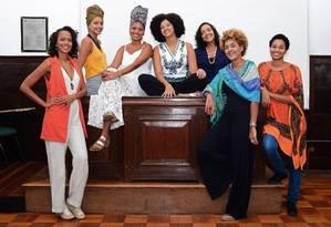 Representatividade. Integrantes do Coletivo Anastácia Bantu promove debates sobre raça e gênero na UFF Foto: Divulgação