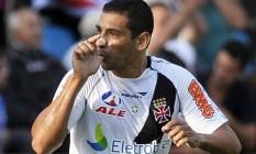Boa passagem. Diego Souza, que jogou no Vasco em 2011 e 2012, está insatisfeito no São Paulo e pode voltar a clube Foto: Pedro Vilela / Pedro Vilela/24-7-2011
