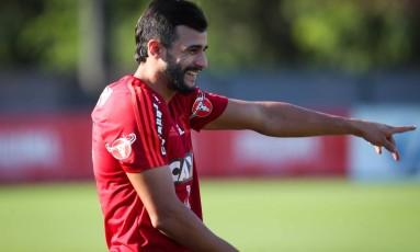 Henrique Dourado está confirmado no ataque do Flamengo Foto: Gilvan de Souza/Divulgação Flamengo