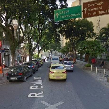 Homem é encontrado morto dentro de carro em Copacabana Foto: Reprodução / Google Maps