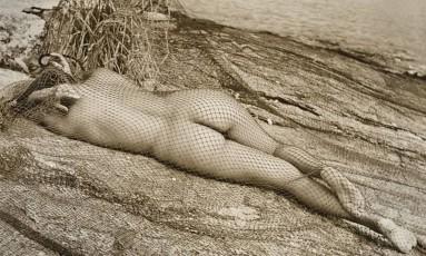 Acervo. A mulher e a rede, na Ilha dos Carecas, São Francisco, nos anos 1950 Foto: Divulgação/Luiz Antonio Pimente