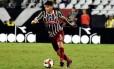 Em alta. Ayrton Lucas ganhou a vaga de titular e já é especulado em negociaçõe Foto: Mailson Santana/Fluminense FC