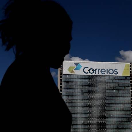 Recursos do Postalis são abastecidos pelo fundo de previdência dos funcionários dos Correios Foto: Michel Filho / Agência O Globo