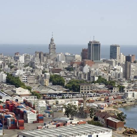 Montevidéu. Capital do Uruguai Foto: Marcos Issa / Bloomberg News/Marcos Issa