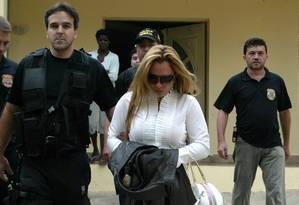 Esposa de Fernandinho Beira-Mar cumpre pena em Porto Velho Foto: Marcos Tristão / Agência O Globo