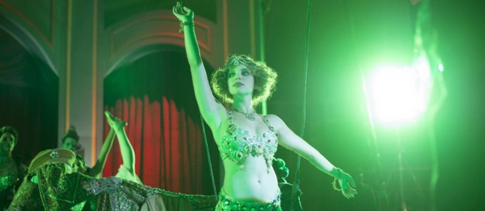 Bruna Linzmeyer em 'O grande circo místico', de Cacá Diegues Foto: RAFAEL D'ALO / Divulgação