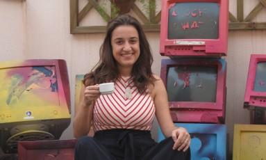 Dois Cafés e a Conta com Gabriela Agustini Foto: Mauro Ventura / O Globo