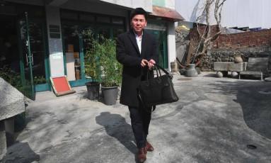Joo Seung-hyeon não conseguia emprego quando revelava ser da Coreia do Norte Foto: JUNG YEON-JE / AFP