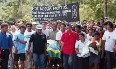 Enterro da missionária Dorothy Stang, em 2005 Foto: Ailton de Freitas / Agência O Globo