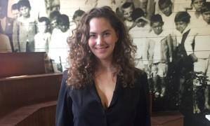 Emma Ferrer: neta de Audrey Hepburn está em São Paulo para a SPFW Foto: Gilberto Júnior