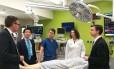 Médicos responsáveis pelo transplante no hospital Johns Hopkins Foto: Divulgação/Johns Hopkins