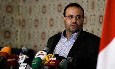 Saleh al-Sumad. Líder político dos rebeldes houthis foi morto em ataque aéreo na semana passada Foto: KHALED ABDULLAH / REUTERS