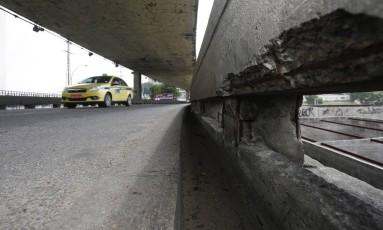 Viaduto da Mangueira Foto: Fábio Guimarães / Agência O Globo
