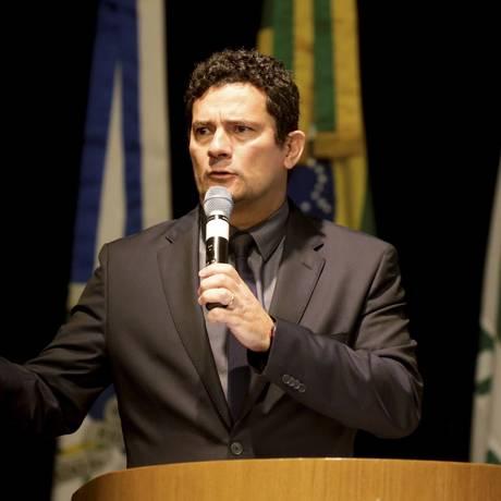 O juiz federal Sérgio Moro, responsável pelas ações da Lava-Jato em Curitiba Foto: Gabriel de Paiva / Agência O Globo