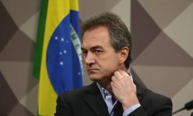 Joesley Batista, um dos sócios da JBS, presta depoimento à Comissão Parlamentar Mista de Inquérito Foto: Ailton de Freitas / Ailton Freitas