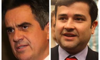 O presidente do PP, Ciro Nogueira e o deputado federal Eduardo da Fonte Foto: Reprodução / Agência O Globo