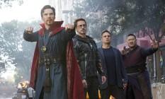 Cena de 'Vingadores: Guerra Infinita' Foto: Reprodução
