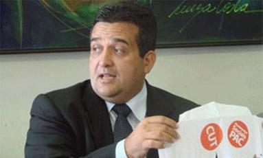 O ex-deputado Márcio Junqueira, alvo da Lava-Jato Foto: Divulgação
