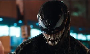 Trailer revela Tom Hardy como 'Venom' Foto: Reprodução