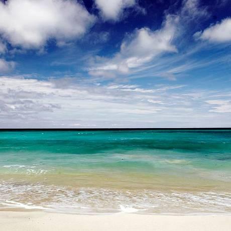 A praia de Dreamland Beach, em Bali, na Indonésia Foto: Wikicommons