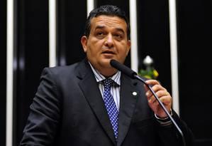 Marcio Junqueira discursa no plenário da Câmara dos Deputados Foto: Gustavo Lima/Câmara dos Deputados/01-07-2013